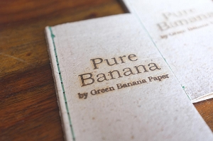 Handmade Pure Banana Rolling Paper 1-Pack 40 Leaves